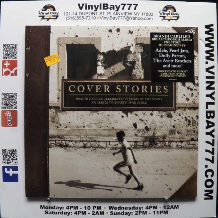 Sealed 12 Quot 2xlp Various Artists Cover Stories Brandi