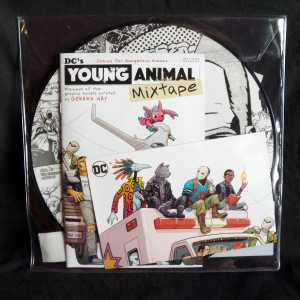 Gerard Way Young Animal 12in Picture Disc RSD LP -Comic 2