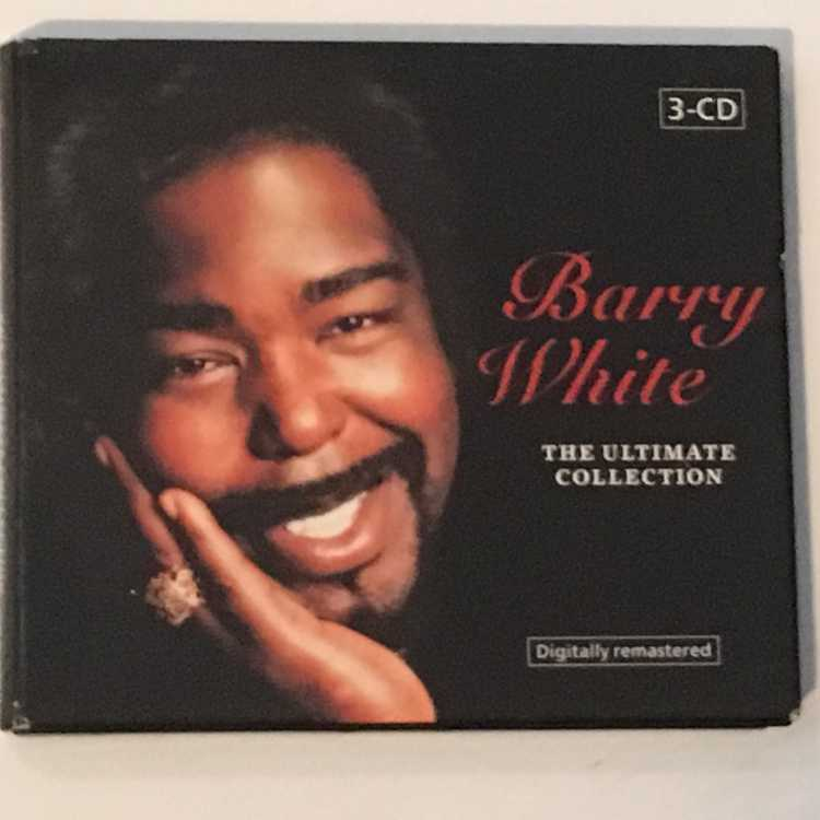 Barry White Ultimate Collection: USED 3 CD Set Barry White The Ultimate Collection
