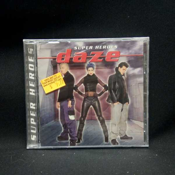 SEALED CD Daze Super Heroes 1997 Columbia - VinylBay777