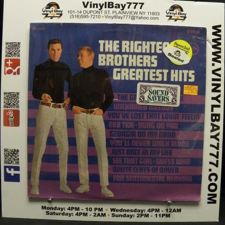 Sealed 12 Quot Lp The Righteous Brothers Greatest Hits 1967