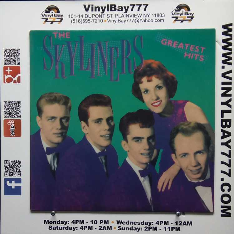 Used 12 Quot Lp Vg The Skyliners The Skyliners Greatest