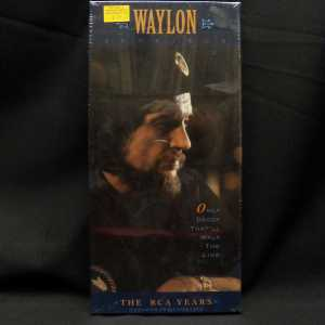 Waylon Jennings Only Daddy That'll Walk The Line The RCA Years 2 Cassette Box Set 1