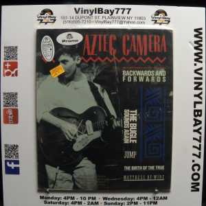 Aztec Camera Backwards and Forwards Used M- Promo 10in 1