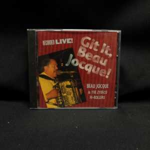 Beau Jocque & The Zydeco Hi-Rollers Git It, Beau Jocque! Used CD 1