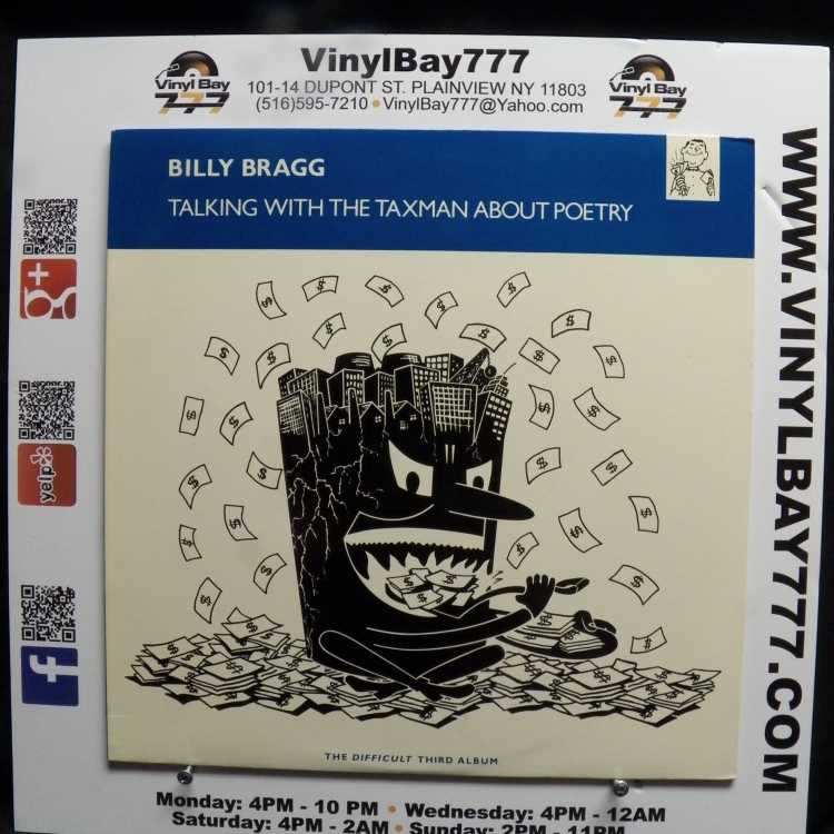Billy Bragg Tour Usa