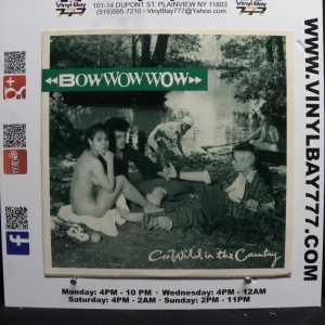 Bow Wow Wow Go Wildin the Country Used M- Import 12in Single 1