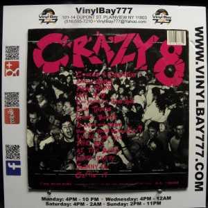 Crazy 8 Big Live Nut Pack Used VG++ LP 2