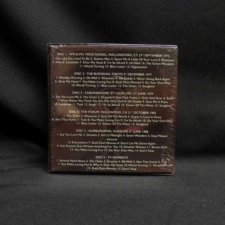 Sealed 6 Cd Box Set Fleetwood Mac The Legendary Broadcasts