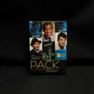 Frank Sinatra Dean Martin Sammy Davis Jr. Rat Pack Sings 3 DVD Set 1