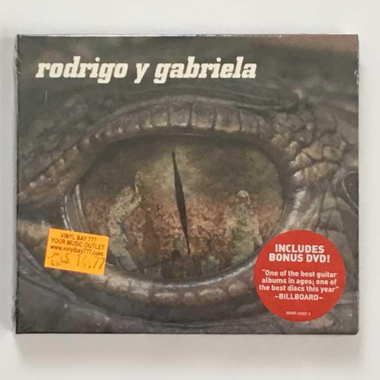 Sealed Cd Rodrigo Y Gabriela Rodrigo Y Gabriela Ato
