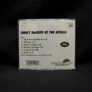 Jimmy McGriff At The Apollo Used CD 2