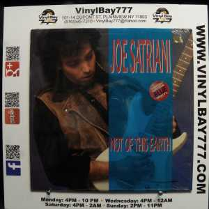 Joe Satriani Not Of This Earth Used M- LP Color Vinyl 1