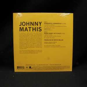 Johnny Mathis Wonderful Wonderful 7in Single RSD 2