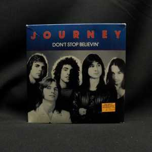 Journey Don't Stop Believin' 7in Single T-Shirt Box Set 1
