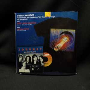 Journey Don't Stop Believin' 7in Single T-Shirt Box Set 2