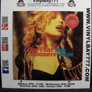 Kim Wilde I Can't Say Goodbye Used M- Import 12in Single 1