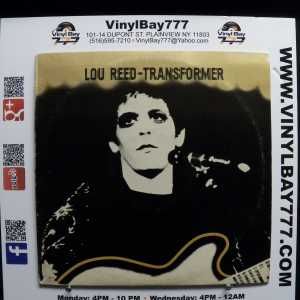 Lou Reed Transformer Used VG++ First Pressing LP 1