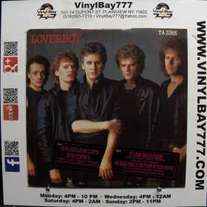 Loverboy Hot Girls In Love Used M- 12in 4-track Single 2