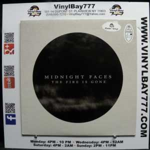 Midnight Faces The Fire Is Gone Used M- Colored Vinyl LP 1