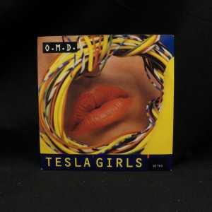 O.M.D. Tesla Girls Used M- 7in 1