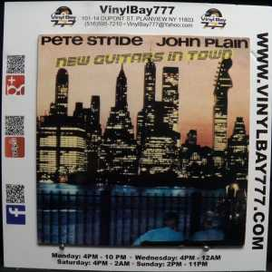 Pete Stride and John Plain New Guitars In Town Used M- Import LP 1