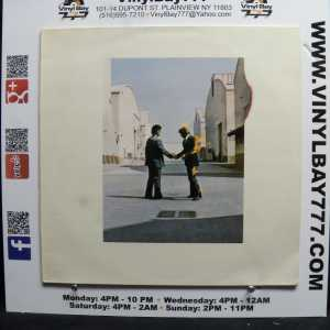Pink Floyd Wish You Were Here Holland Blue Used VG++ LP 1