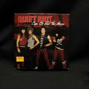 Quiet Riot Cum On Feel The Noize 7in Single T-Shirt Box Set 1