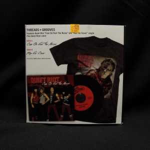 Quiet Riot Cum On Feel The Noize 7in Single T-Shirt Box Set 2