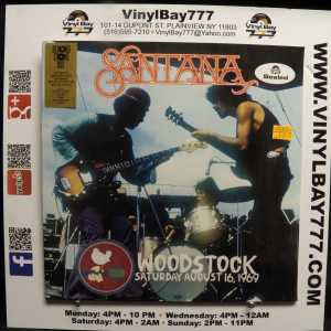 Santana Woodstock Saturday August 16, 1969 RSD LP 1