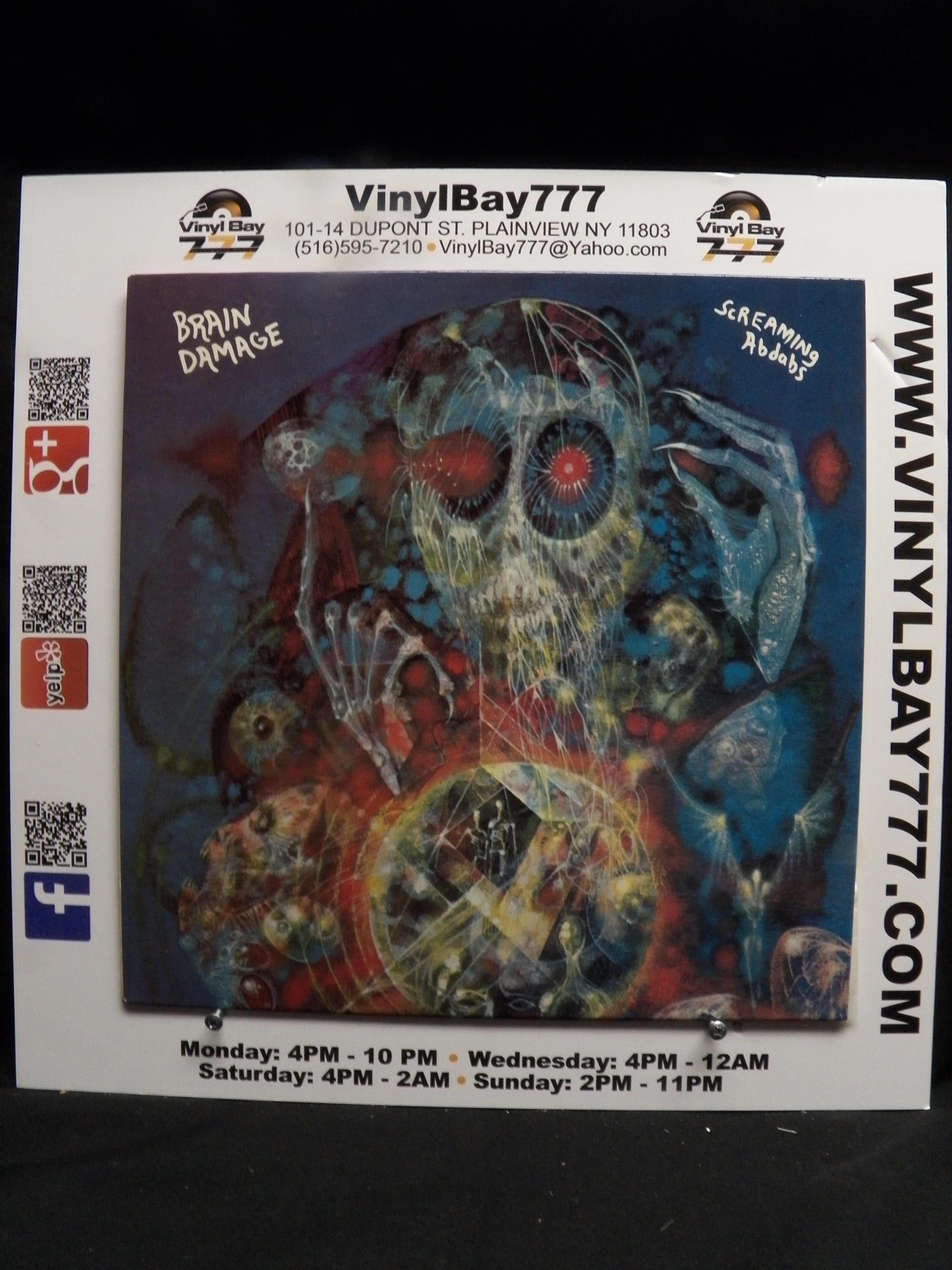 USED 12 LP M Screaming Abdabs Brain Damage 1985 Sigma 6