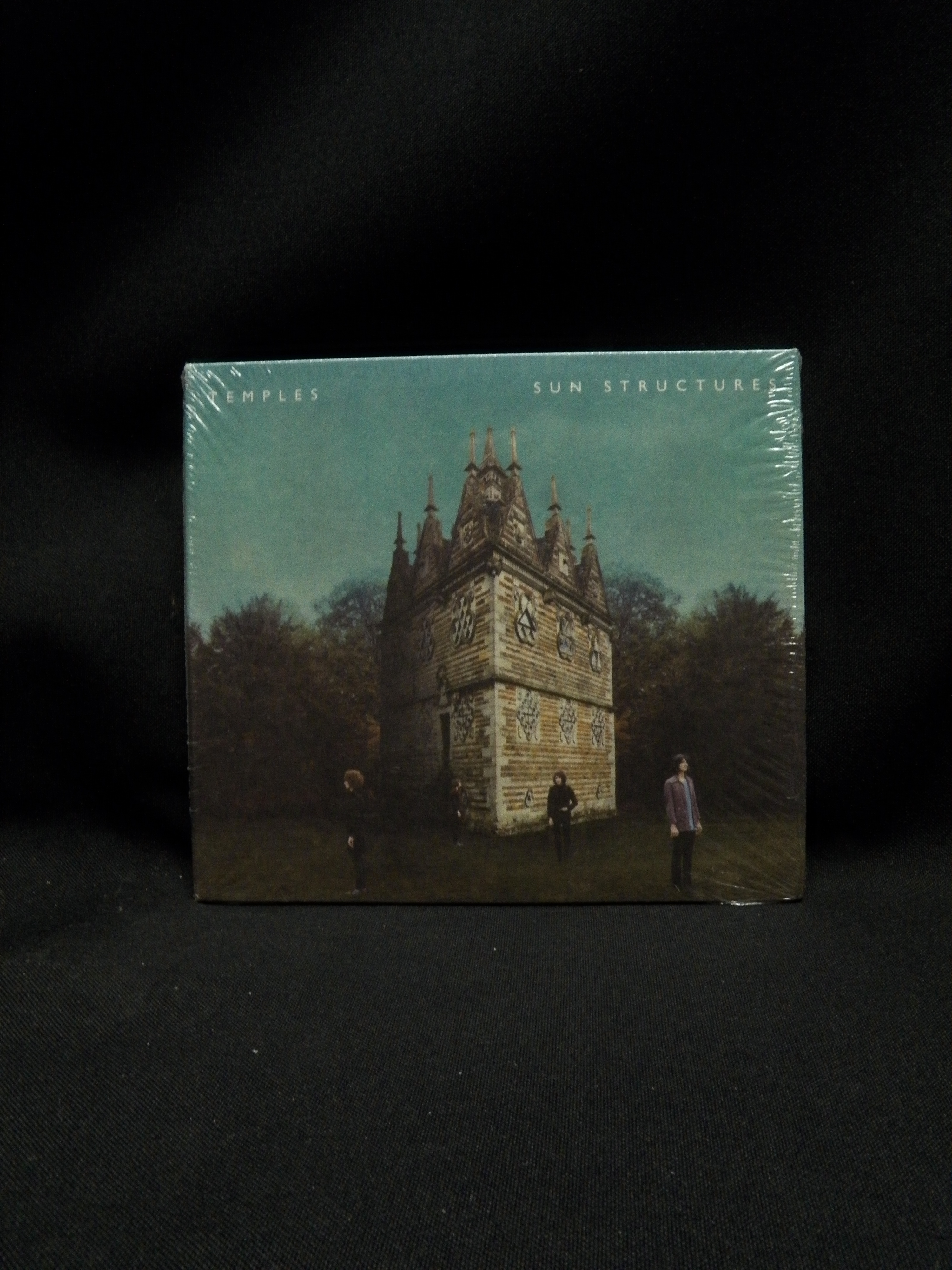 Sealed Cd Temples Sun Structures 2014 Fat Possum Records