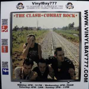 The Clash Combat Rock Used M- LP 1
