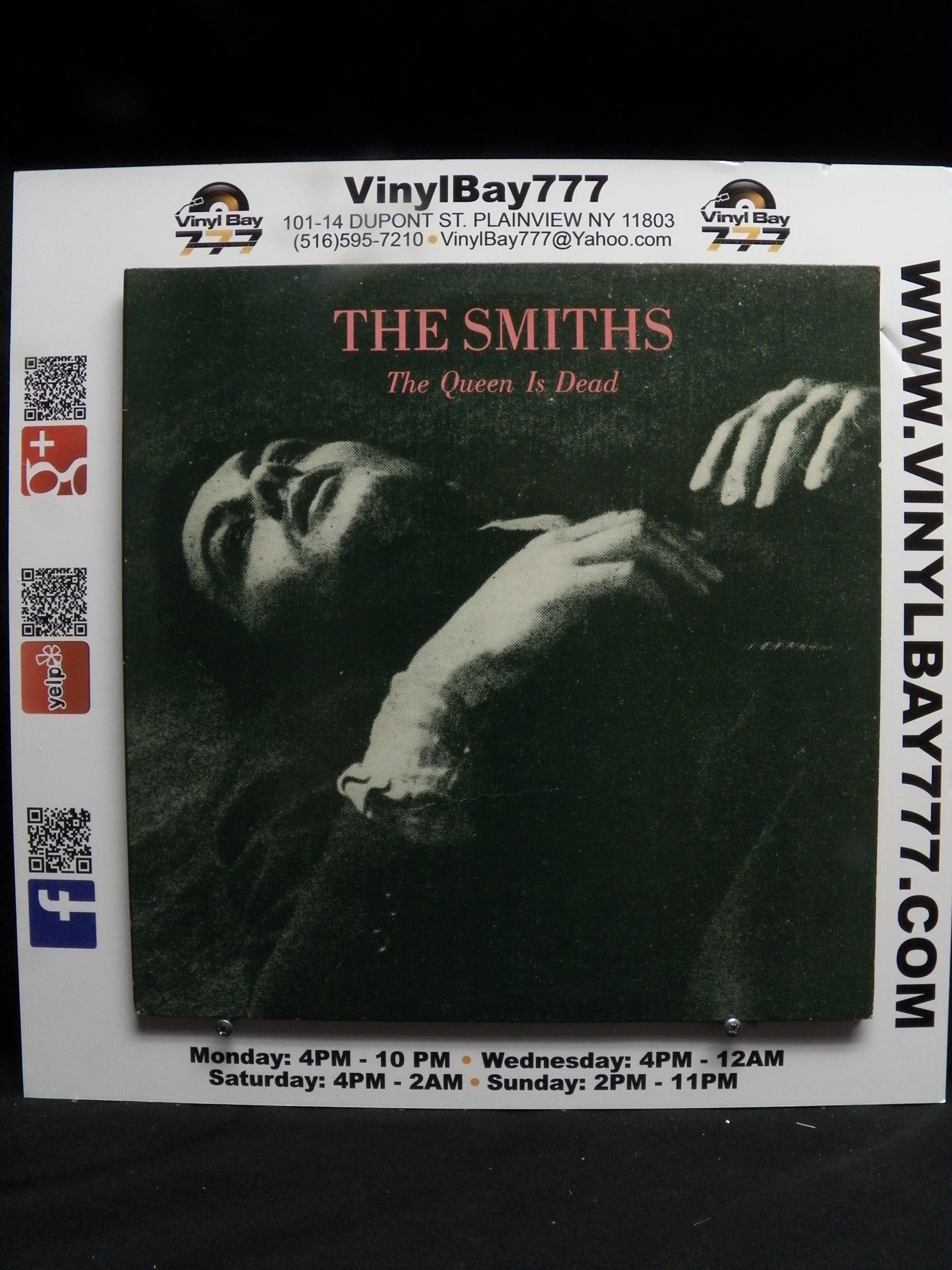 Used 12 Quot Lp Vg The Smiths The Queen Is Dead 1986 Sire