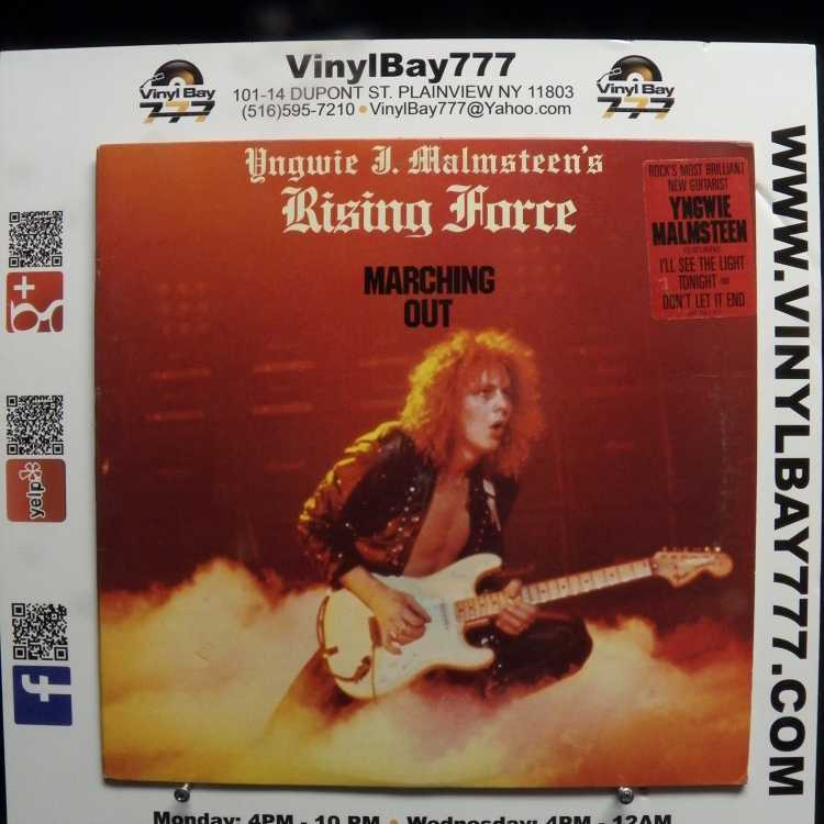 Used 12 Quot Lp Vg Yngwie J Malmsteen S Rising Force