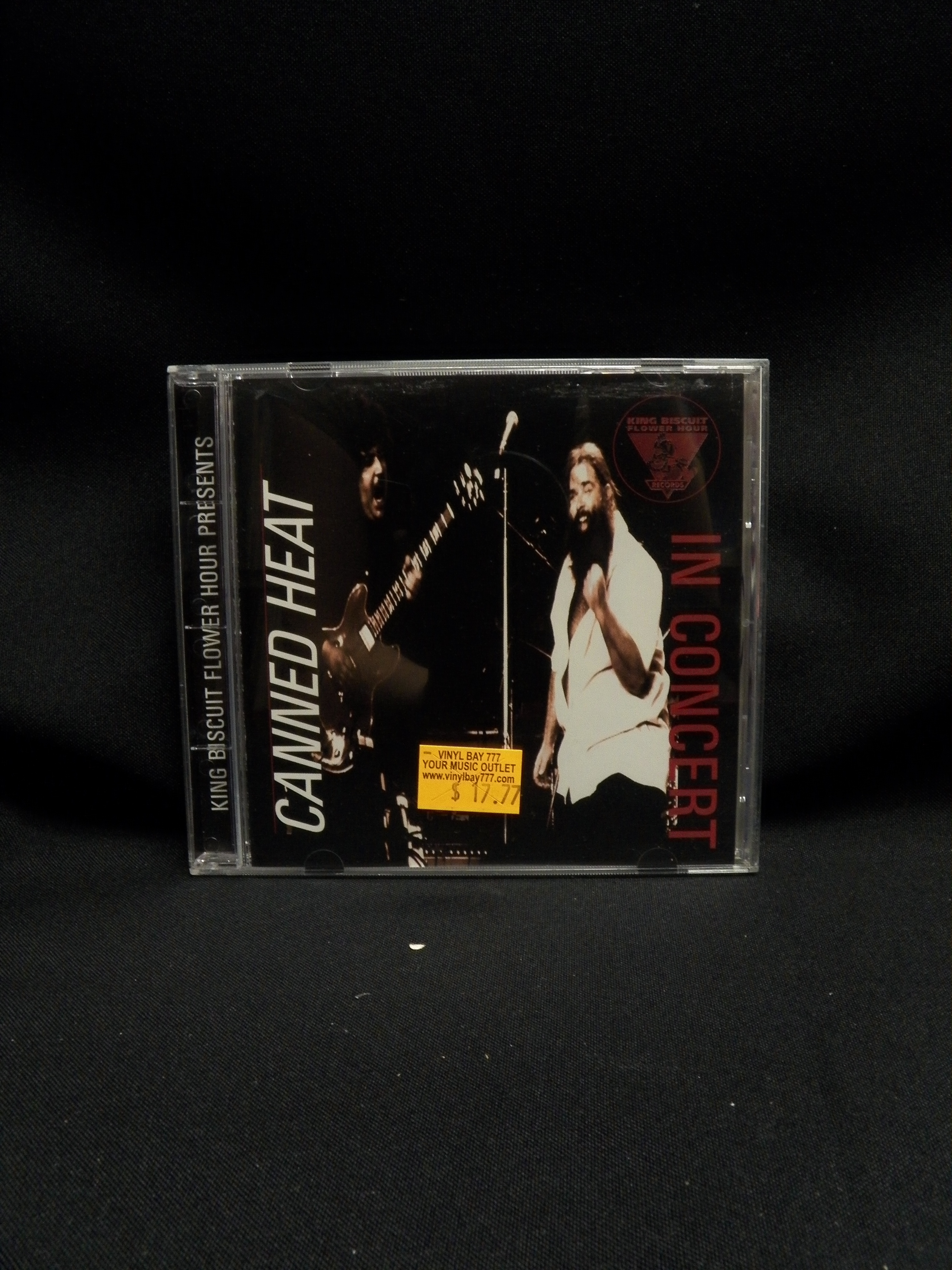USED CD Canned Heat In Concert 1995 King Biscuit Flower