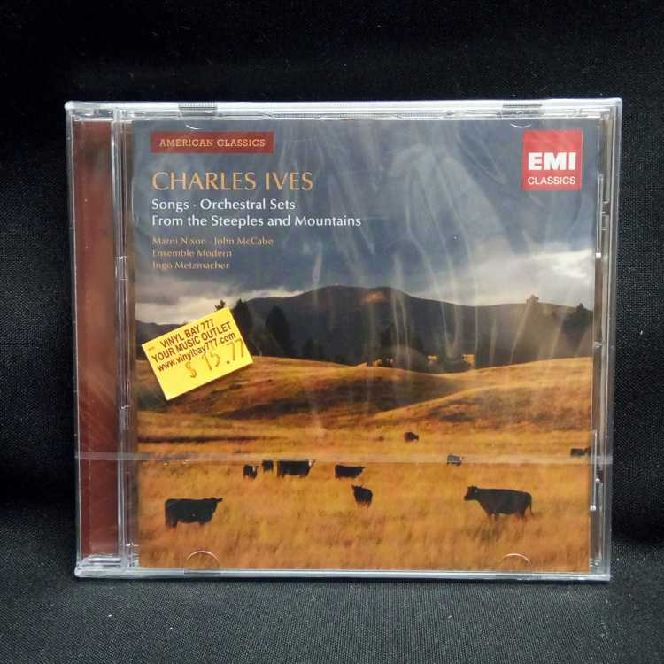 Sealed cd marni nixon john mccabe ensemble modern ingo for Modern american classics