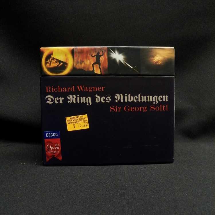 Used 14 Cd Box Set Richard Wagner Sir Georg Solti Der