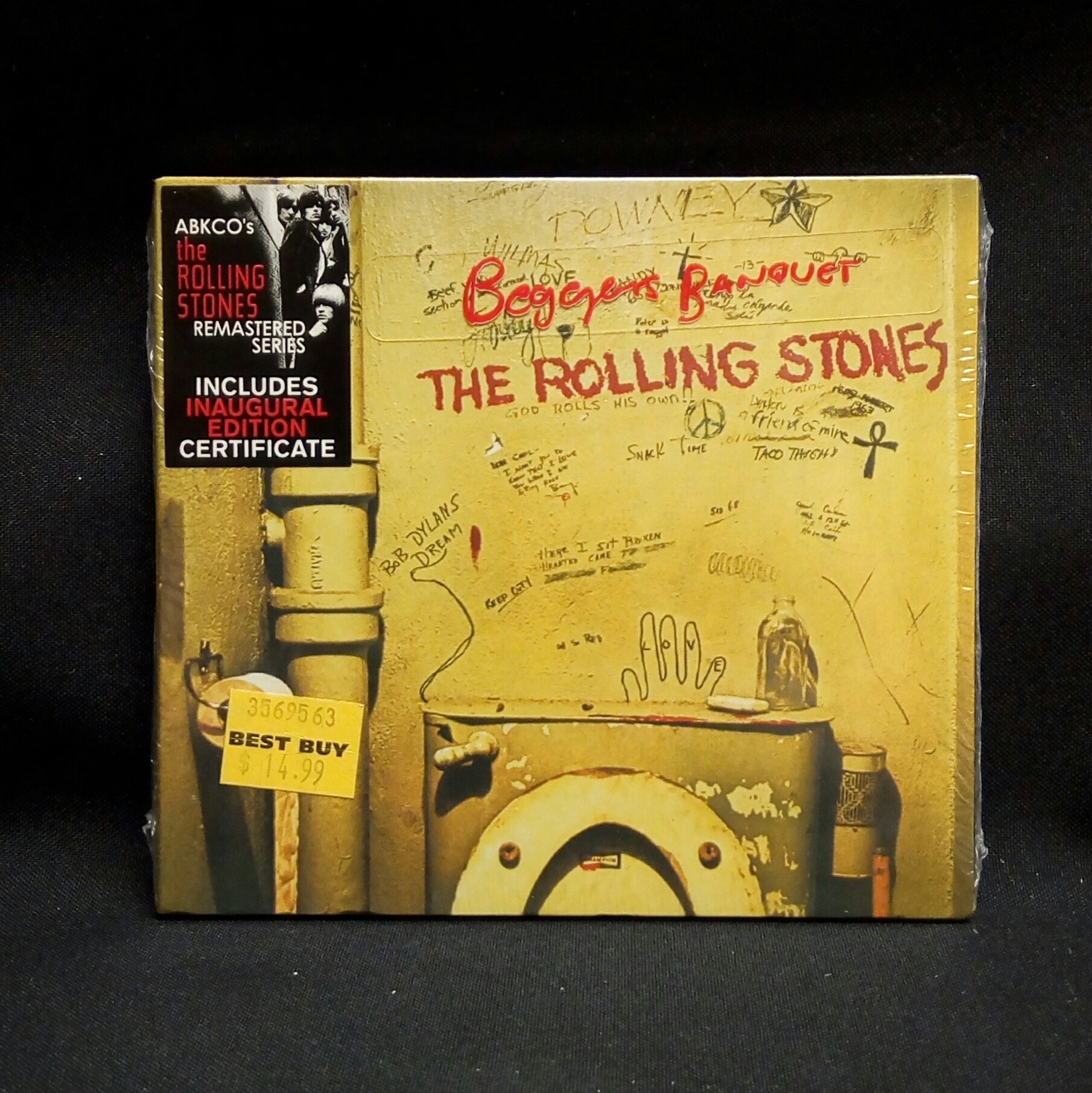 Sealed Cd The Rolling Stones Beggar S Banquet 2002 Abkco