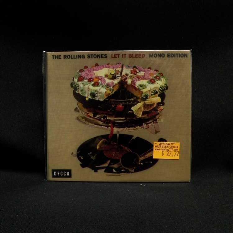 Sealed Cd The Rolling Stones Let It Bleed Mono Edition