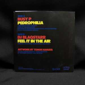 Busy P. DJ Blaqstarr Pedrophilia Feel It In The Air VG++ 7in 2
