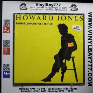 Howard Jones Things Can Only Get Better 12in Single 1