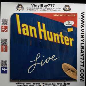 Ian Hunter Welcome To The Club LP 1