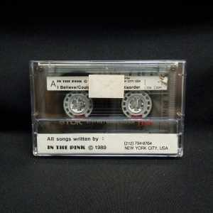 In The Pink Demo 1989 Used Cassette 2