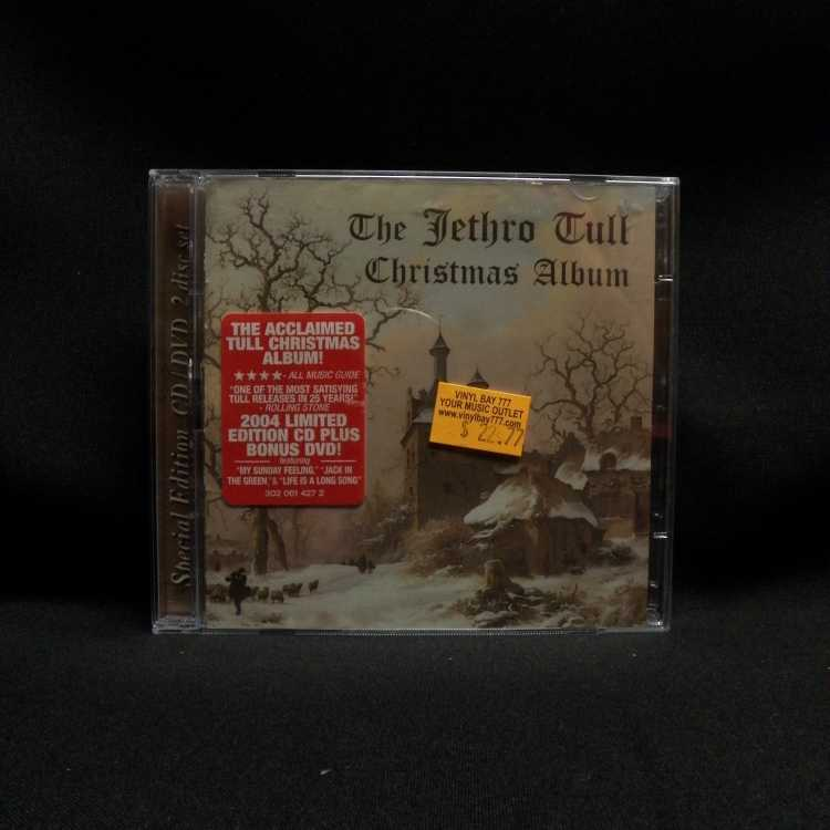 USED CD/DVD Set Jethro Tull The Jethro Tull Christmas Album (Special ...