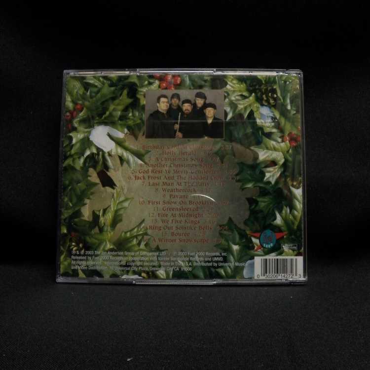 USED CD/DVD Set Jethro Tull The Jethro Tull Christmas Album (Special ...