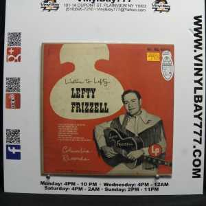 Lefty Frizzell Listen To Lefty VG+ 10in 1