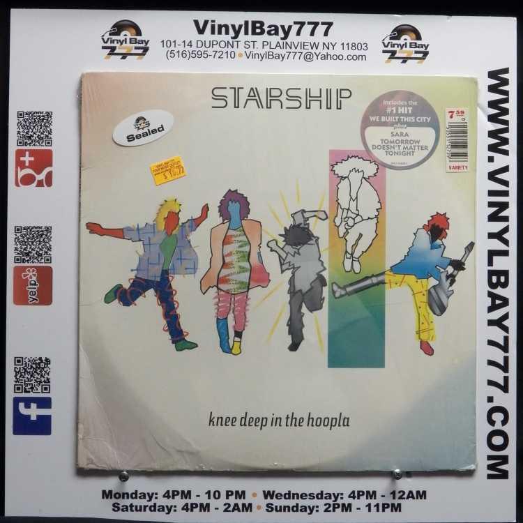 Starship Knee Deep In The Hoopla