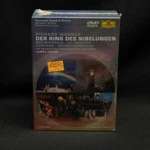 James Levine Richard Wagner Der Ring Des Nibelungen 7 DVD Box Set 1