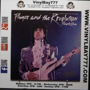 Prince And The Revolution Purple Rain God Used M- Promo Color Vinyl 12in Single 1